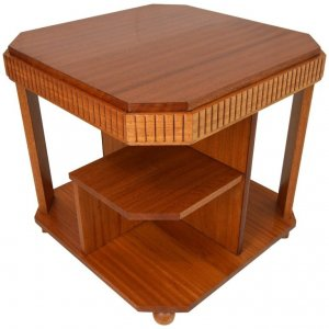 Art Deco Bookcase-Table