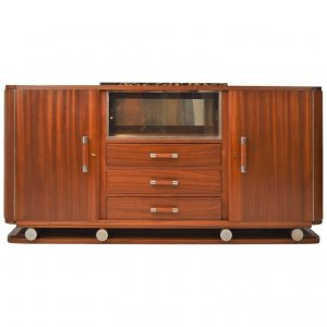 Gaston Poisson Art Deco Sideboard