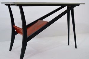 Mid Century Belgian Coffee Table 1950s.