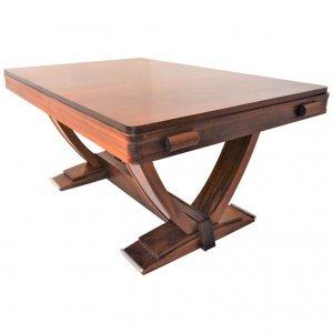 Gaston Poisson Art Deco Dining-Table